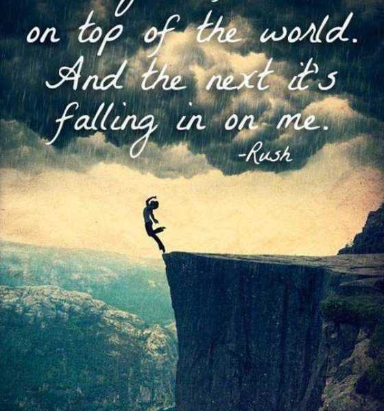 Bipolar Quotes One Day I Feel Top Of The World, Next Day