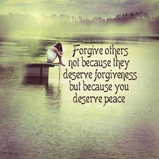 Forgiveness Quotes Forgive Others Not Because They Deserve