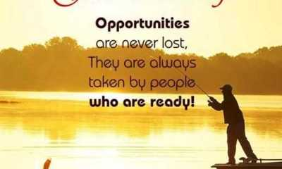 Good Morning Quotes Life sayings Good Morning Opportunities Never Lost