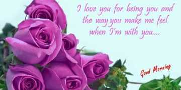 Good Morning Quotes Love sayings Good Morning I love you