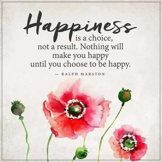 Happiness Quotes About Happiness Is A Choice Choose To Be Happy