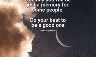 Inspirational quotes on life Just A Memory On Some People, Do Your Best