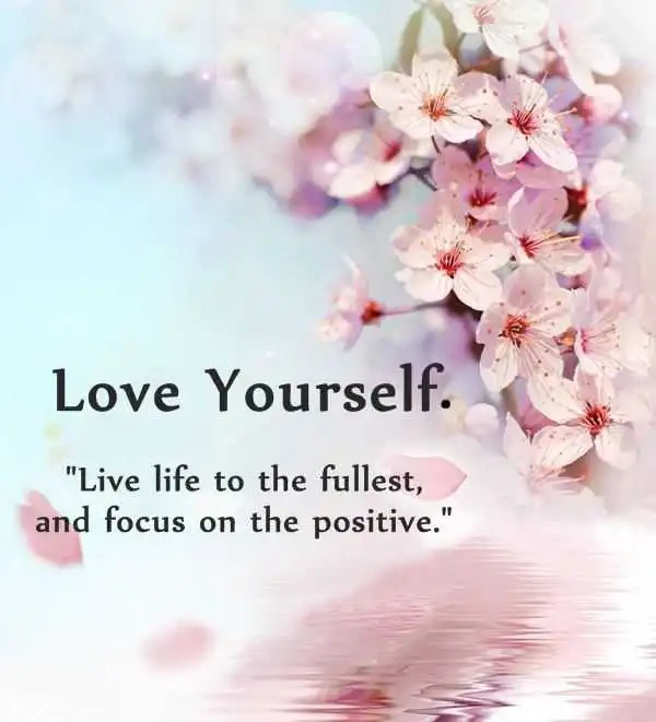 Love Yourself First Quotes Custom Positive Quotes Why First Love Yourself Should Awesome BoomSumo
