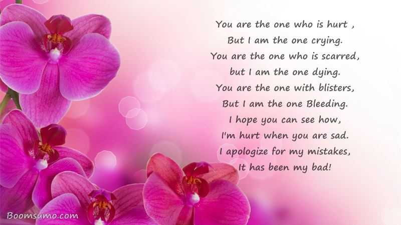 You Are The One Who Is Hurt Sad Love Quotes Sayings - BoomSumo Quotes