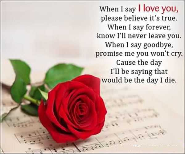 best love Quotes Love sayings I love You Believe It's True
