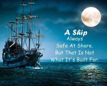 Albert Einstein Quotes A Ship Always Safe