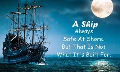 Albert Einstein Quotes A Ship Always Safe
