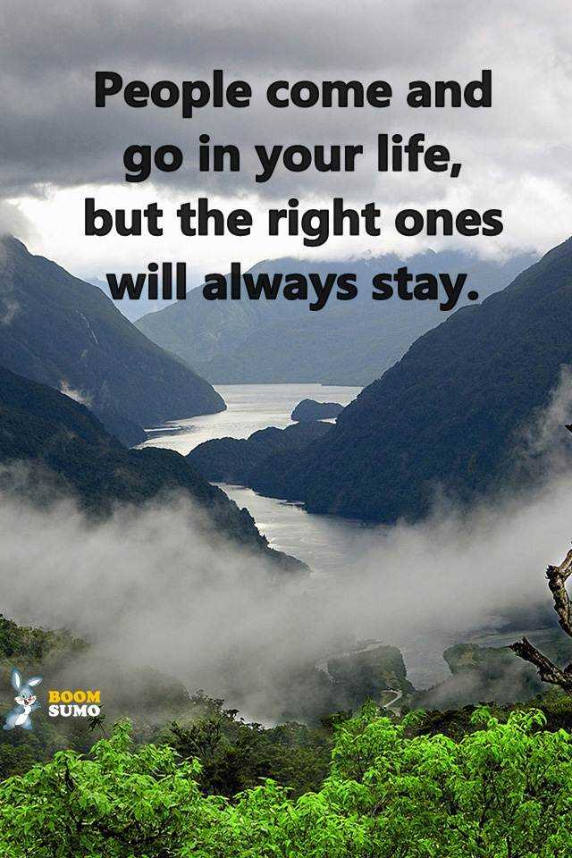 Best Life Quotes | Best Life Quotes About Inspirational Sayings People Come And Go In