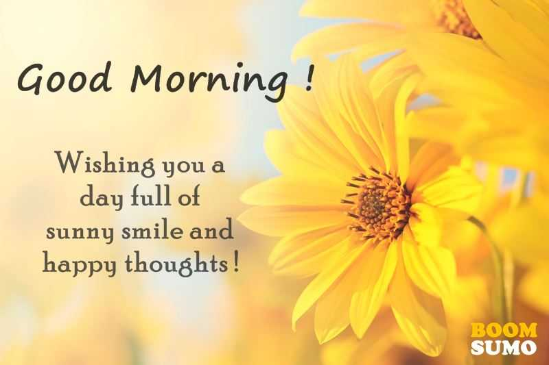 Superieur Good Morning Quotes: Awesome Day Full Of Sunny Smile And Happy Thoughts