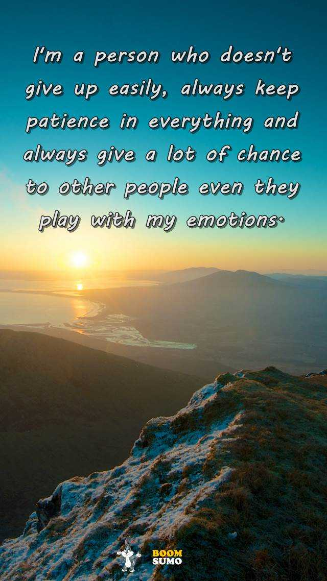 Inspirational Life Quotes And Love Sayings Who Doesnt Give Up Keep