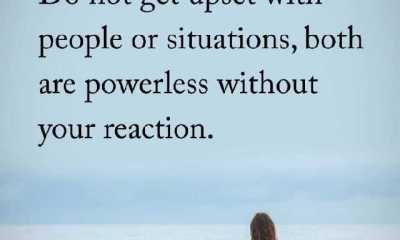 Positive Life Quotes Do Not Get Upset With People This Is The Reason