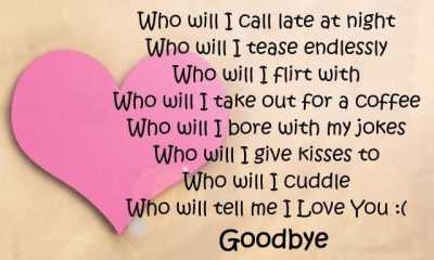 Sad Love Poems When Love Turns To Sadness Goodbye