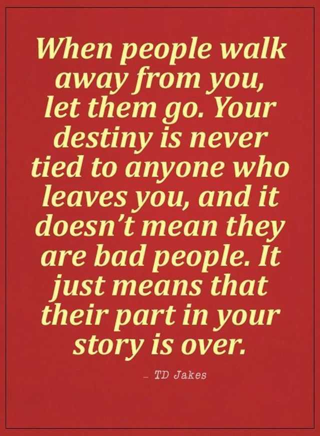 Sad Love Quotes When People Walk Away From You, ...