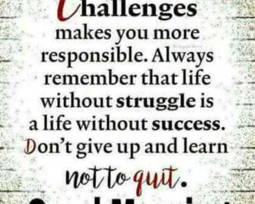 Good Morning Quotes Don't give up and learn not to quit