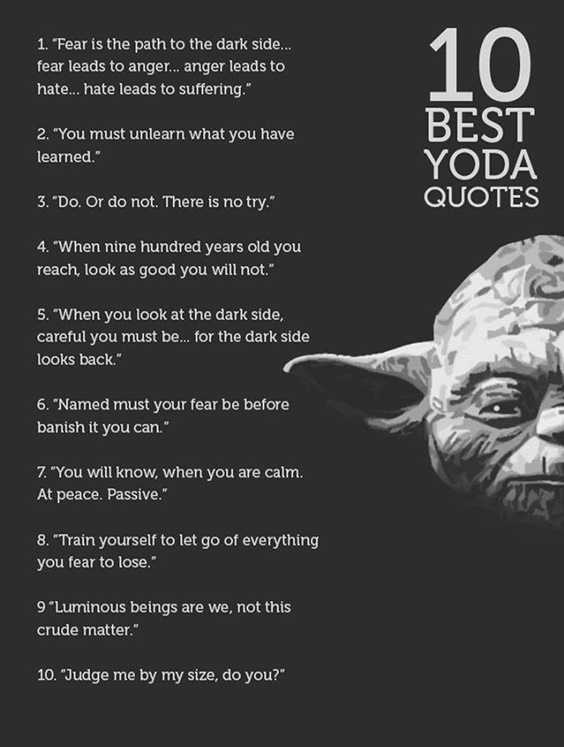 142 Yoda Quotes Youre Going To Love 3