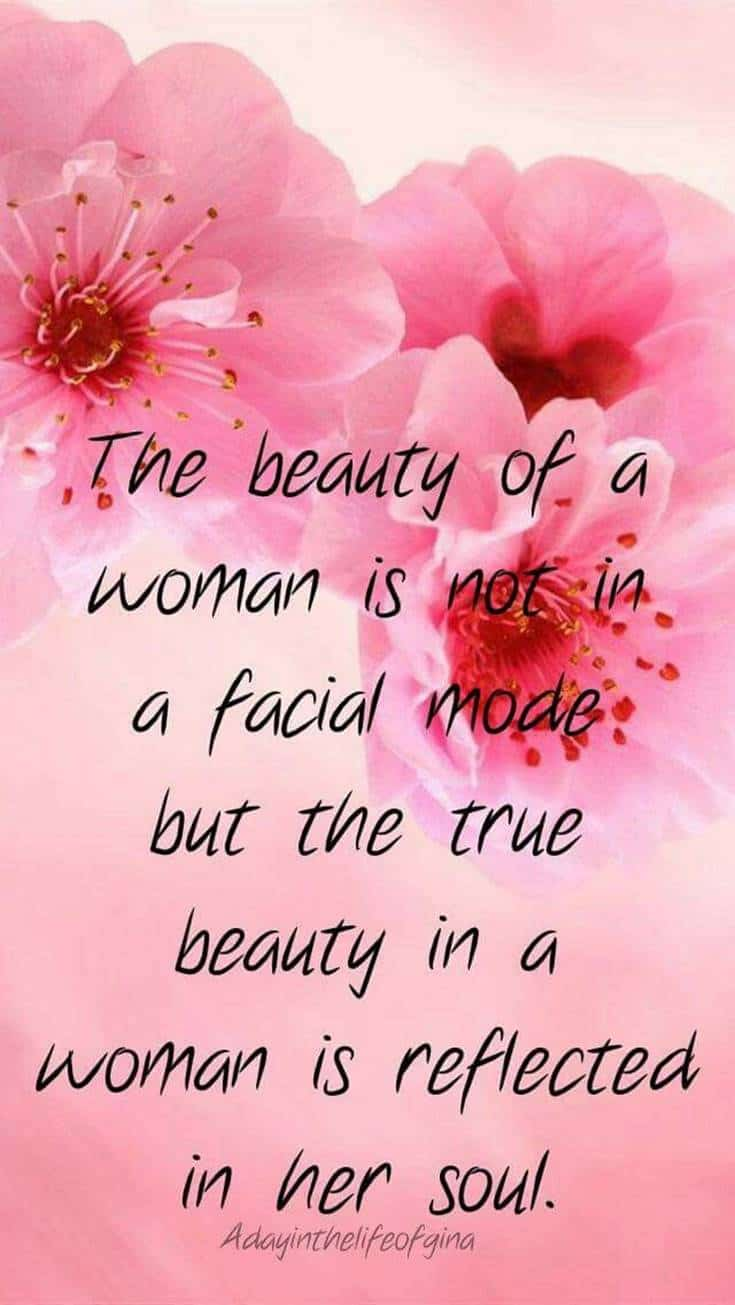 Good Morning beauty of women quotes