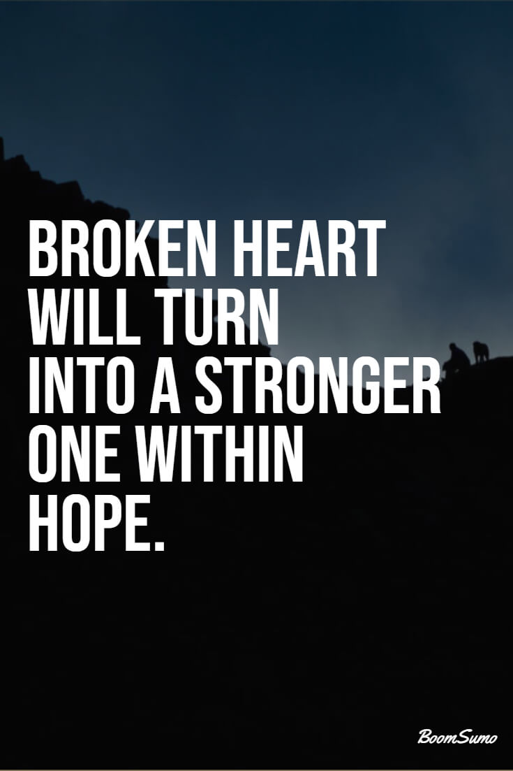 110 Broken Heart Quotes