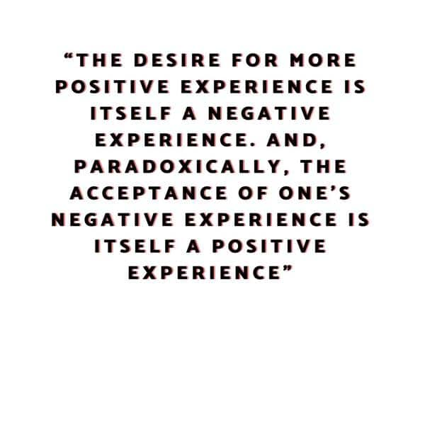 Acceptance of negative experience Best Perseverance Quotes about life quote on hard work and perseverance