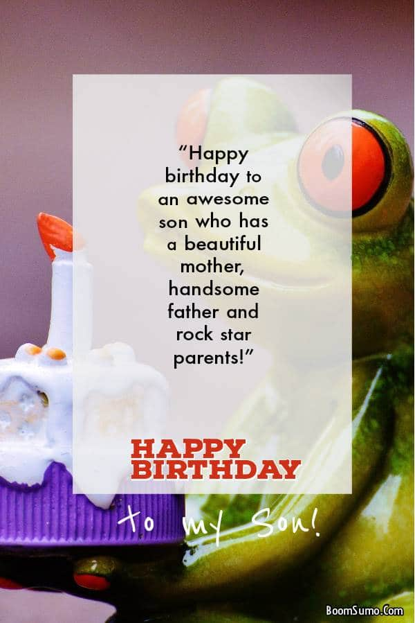 147 Birthday Wishes For Your Son Happy Birthday Son Quotes Boom Sumo