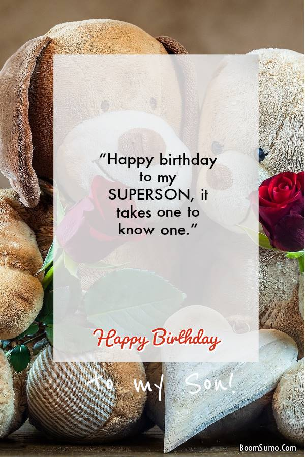 Birthday Greetings for your Adult Son | Your Teenage Son's Birthday Wishes