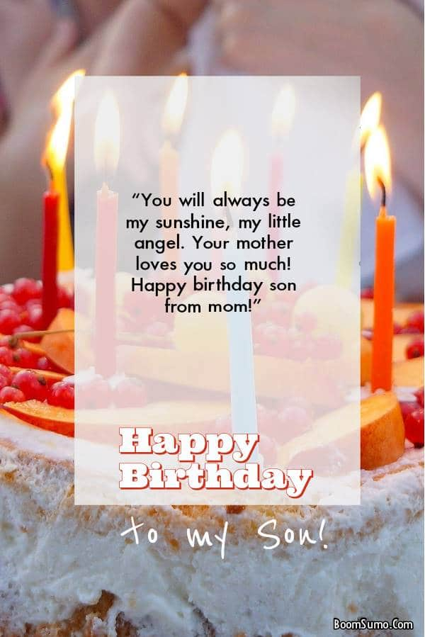 Choose from a wonderful collection of birthday wishes for son from mom and dad. Surprise you | Birthday wishes for son, Happy birthday son wishes, Happy birthday son
