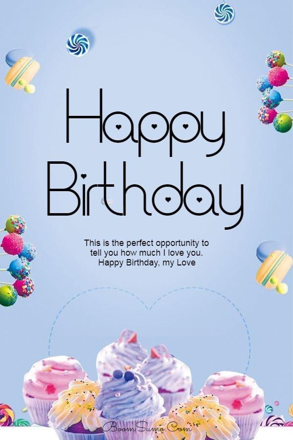 145 Best Happy Birthday Love Cute Romantic Birthday Wishes for Lovers   happy birthday messages, happy birthday to my boyfriend, happy birthday wishes for girlfriend