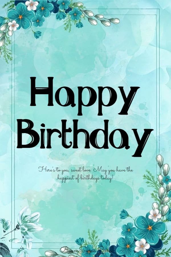145 Best Happy Birthday Love Cute Romantic Birthday Wishes for Lovers   greetings for a friend birthday, happy birthday wishes to friend, friends greetings birthday