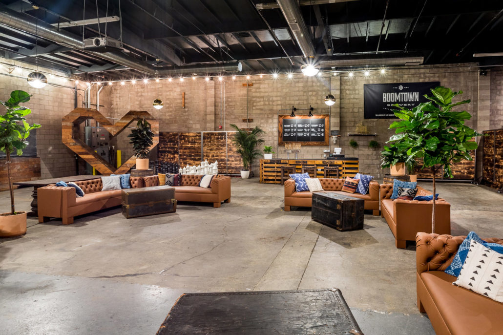 Private Event Space At Boomtown Brewery