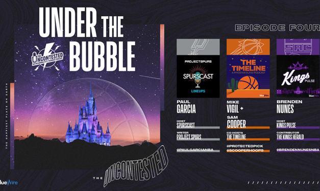 Under the Bubble Ep. 4: Spurs, Suns, Kings