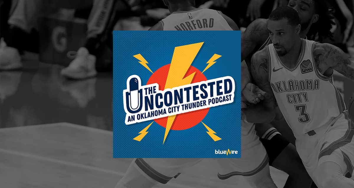 Thunder game 1 takeaways + trading the vets