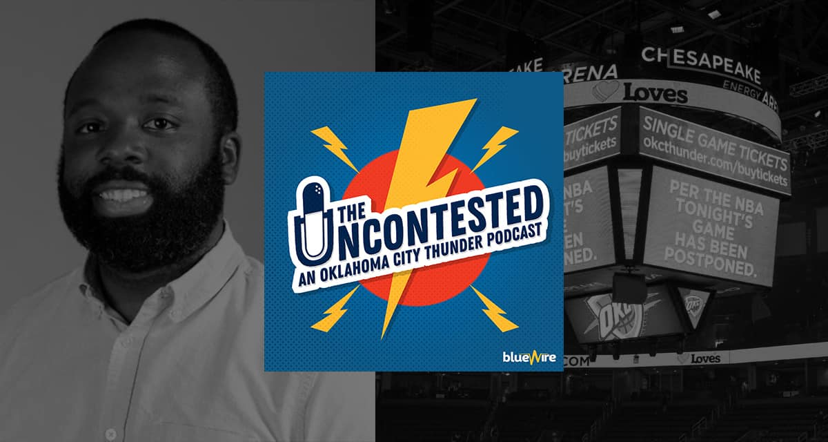 Erik Horne on the Thunder-Jazz non-game 1 year ago + a look forward to the 2nd half