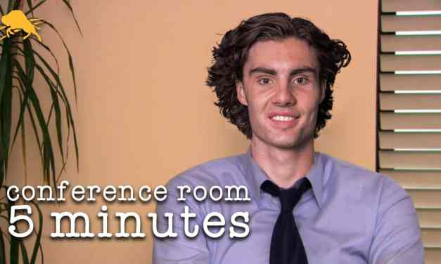 Conference Room, Five Minutes: Opening Night Thoughts