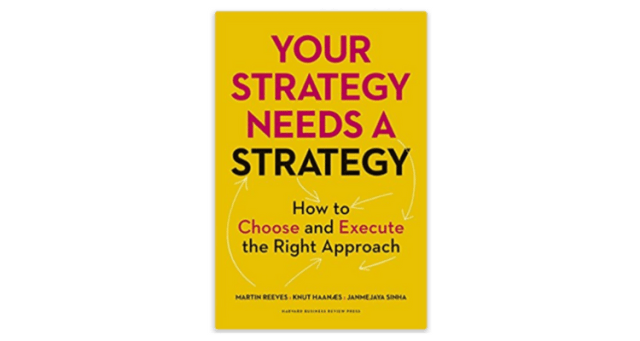 Strategy Needs a Strategy Book