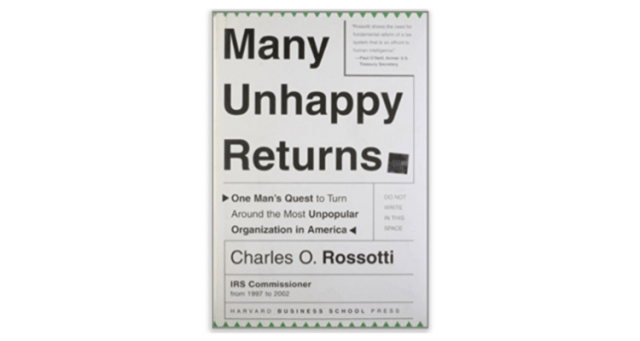 Many Unhappy Returns BoomTown Book