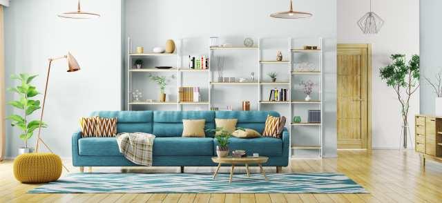 modern interior real estate home staging shifting market lead generation