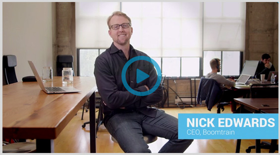Nick Edwards, CEO of Boomtrain, Interviewed by Insight Squared as an example of aligning sales and marketing data to make data driven decisions.