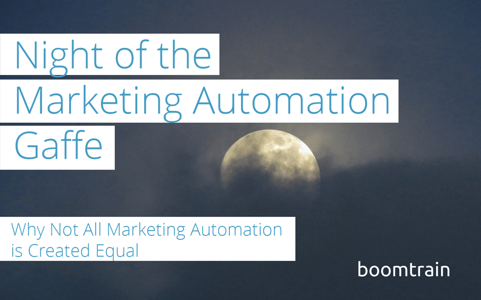 Why Not All Marketing Automation is Created Equal