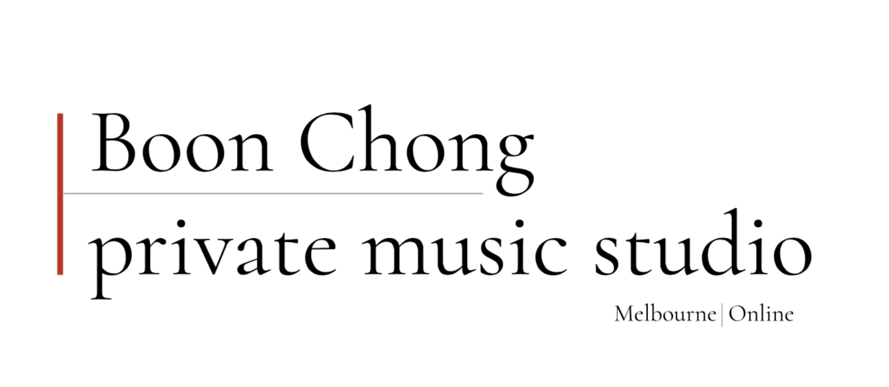 BOONCHONG – Private Music Studio | Melbourne | Online