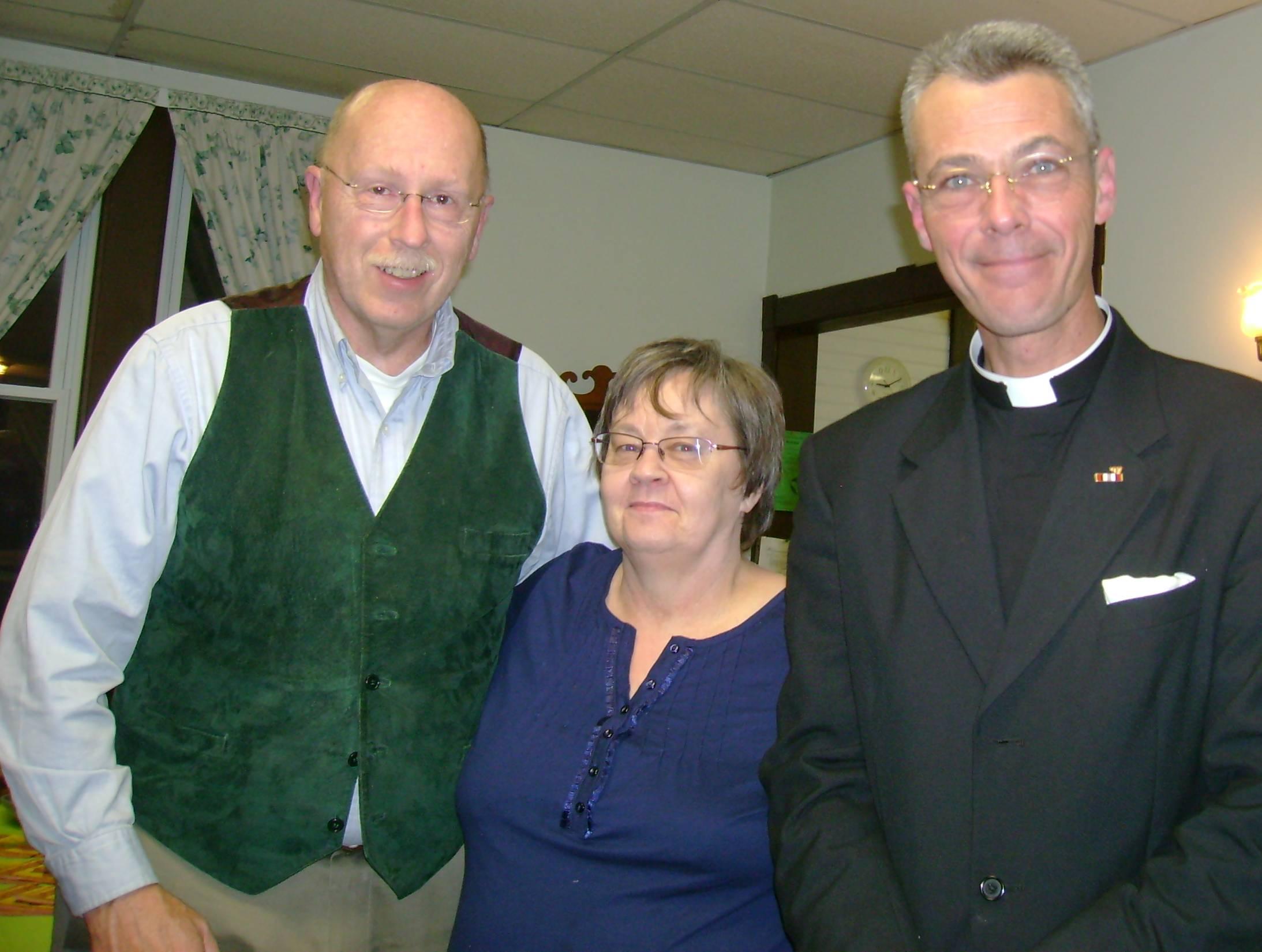 Bob Jones, Joyce and Father Sean