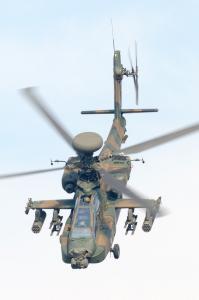 AH-64Dデモフライト