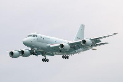 着陸するXP-1の2号機