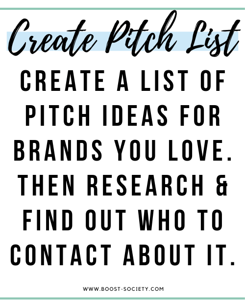 Create a pitch list
