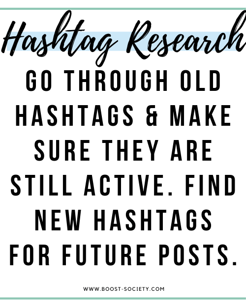 Do hashtag research