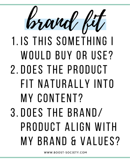Questions to ask before working with brands