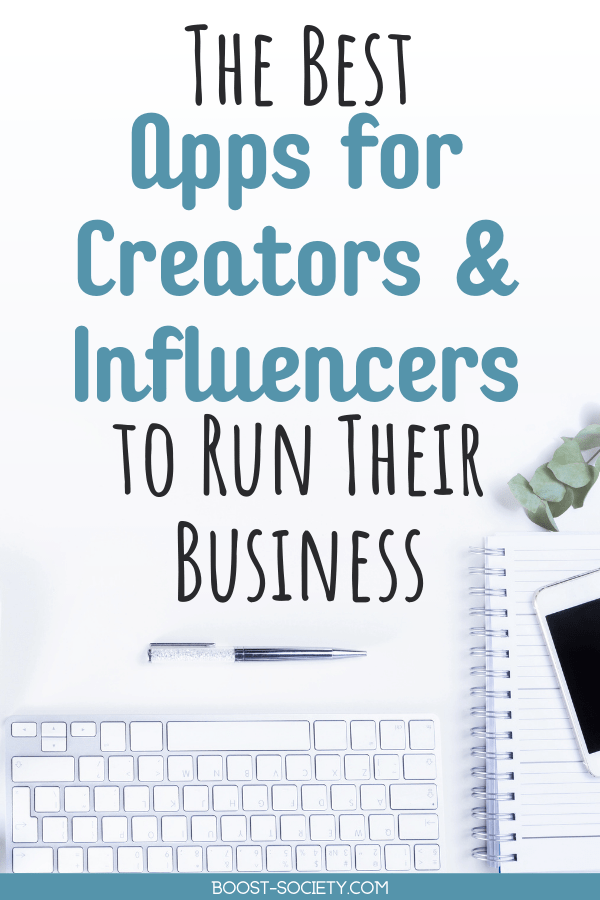 If you are a content creator or influencer who is running a small business, these are the apps you need. These apps for small businesses are also the best apps for influencers and creators. #influencers #contentcreators #smallbusiness | best apps for influencers | best influencer apps | best apps for content creators | best apps for small business owners | best small business apps | instagram influencer apps
