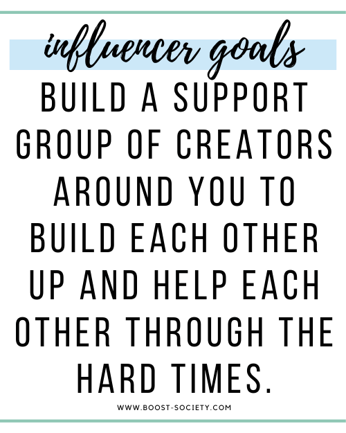 Built a support group of creators around you to build each other up and help each other through the hard times.