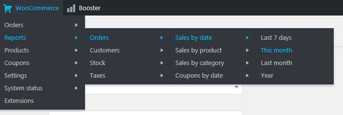 WooCommerce Admin Bar - WooCommerce Admin Bar Addition