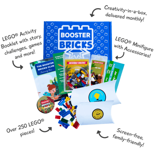 #1 LEGO® Subscription Box And Club!​ (Inside)
