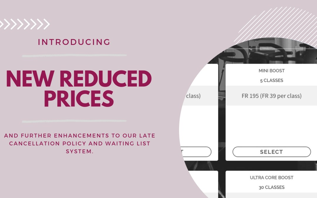 Offering you more flexibility and reduced prices