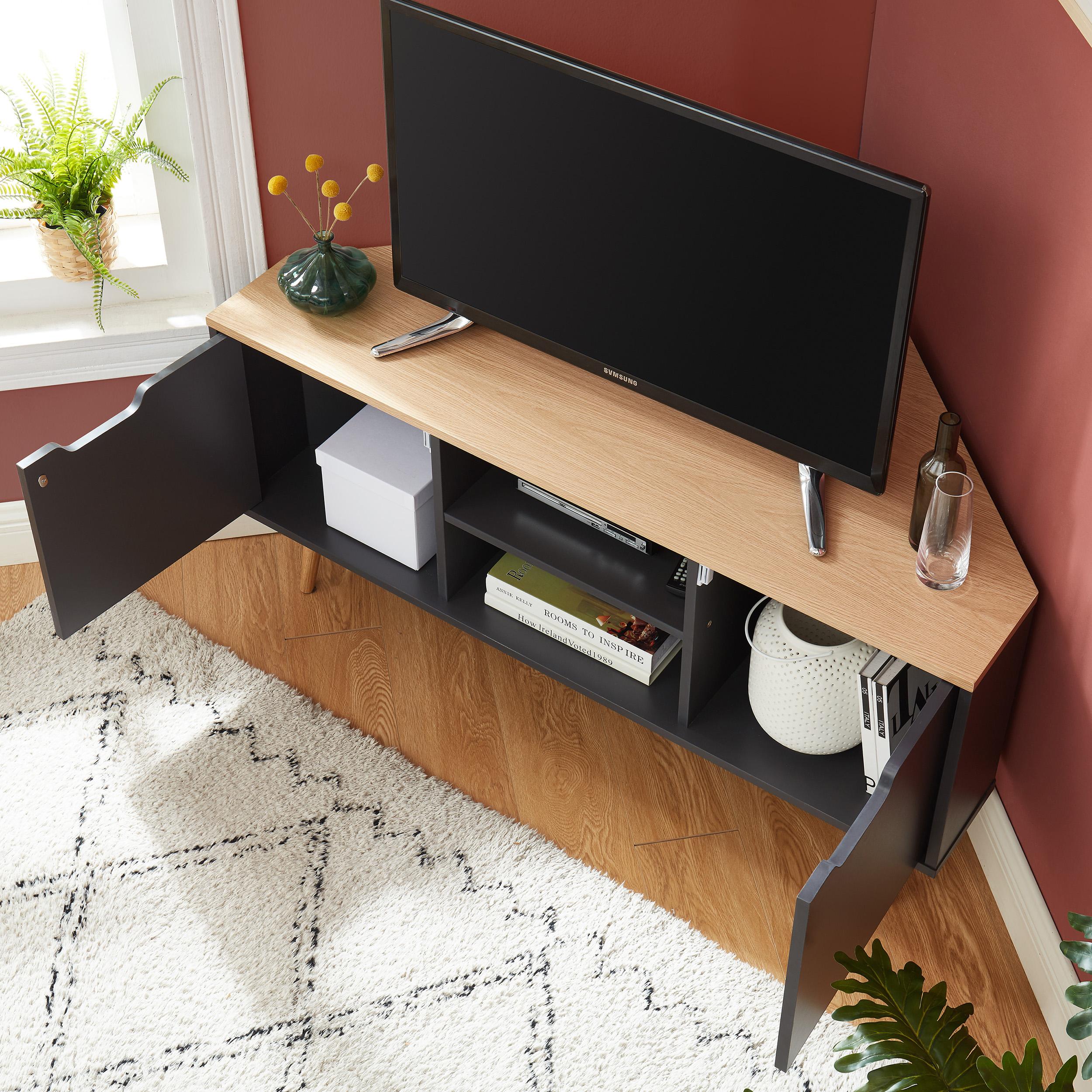 lyna meuble tv d angle style